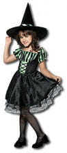 Lime Witch Child Costume. M