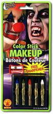 Schminkstifte Set 5 Farben mit Spitzer