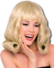 Flip Wig Blond 60s Style