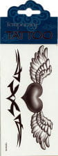 Temporary Tattoo Angel Heart