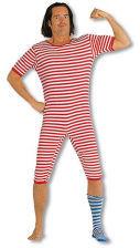 Ringel swimsuit red white