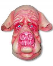 Schweinepest Latex Maske