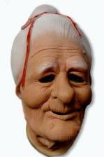 Granny Latex Maske