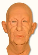 Metzgermeister mask made of foam latex