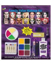 21-piece Carnival & Halloween Makeup Set
