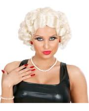 30er Jahre Perücke Betty blond