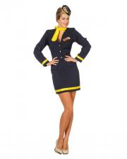 4-piece Stewardess Costume
