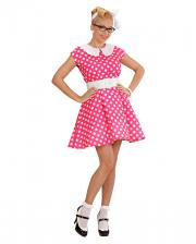 50s Polka Dot Dress Gr. S