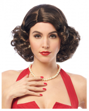 60's Starlet Wig Brown