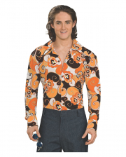 70s Groovy Shirt Orange