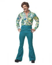 70s Men's Costume Green