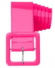 80er Jahre Gürtel Neon Pink