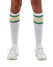 80er Jahre Sportsocken als Kostümzubehör