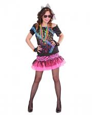 80er Jahre Material Girl Damen Kostüm
