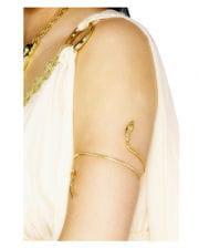 Ägyptischer Schlangenarmreif gold