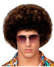 Afro Wig Medium Brown