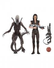 Alien Action Figuren Set mit Zubehör