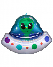 Alien Spaceship Foil Balloon Supershape