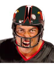 American Football Helm schwarz