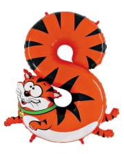 Animaloon Zahl 8 Katze
