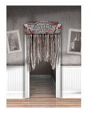 Bloody door curtain Asylum