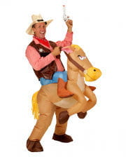 Inflatable Horse Cowboy Costume