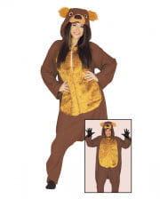Bear Costume Jumpsuit