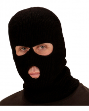Black Balaclava Mask As Balaclava