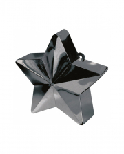 Balloon Weight Star Black 150g