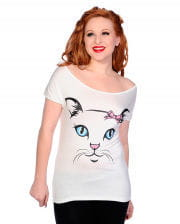 Ladies Shirt Cat