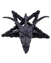 Baphomet Pentagramm Relief
