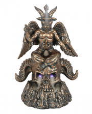 Baphomet Incense Cone Statue With LED
