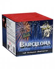 Barcelona 48 Schuss Batteriefeuerwerk