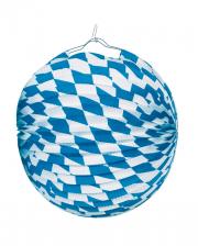 Bayern Rauten Lampion