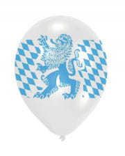 Bayern Rauten Balloon 10 Pieces