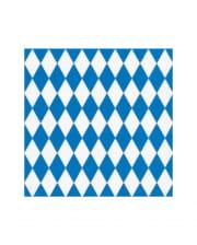 Bavarian Rhombus Napkins 20 Pieces