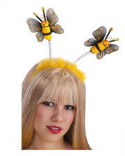 Bienen Haareif mit Flaum