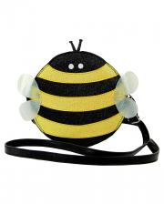 Bees Shoulder Bag Vinyl