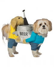beer barrel dog costume