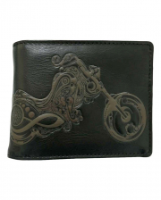 Biker Wallet With Motorcycle