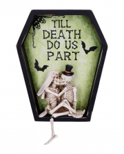 Till Death Do Us Part Skeleton Mural