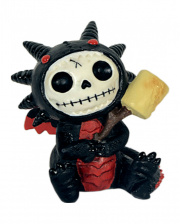 Black Scorchie Furrybones Figure Small