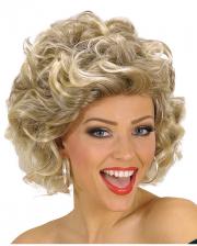 Blonde 70s Perücke Olivia