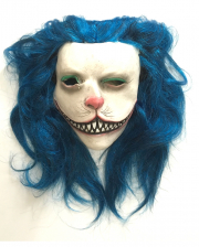 Blue Kitty Horror Mask