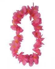 Flower Necklace Pink-orange