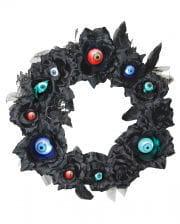 Blumenkranz mit LED Augen