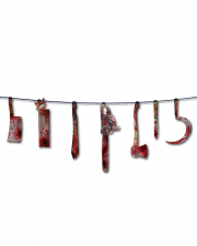 Bloody Butcher Tool Garland