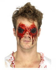Bloody Zombie Eyes Latex Application
