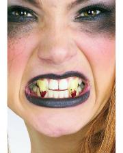 Vampir / Dracula Eckzähne blutig