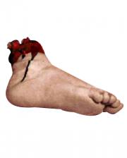 Blutiger Fuß mit Knochenstumpf Premium